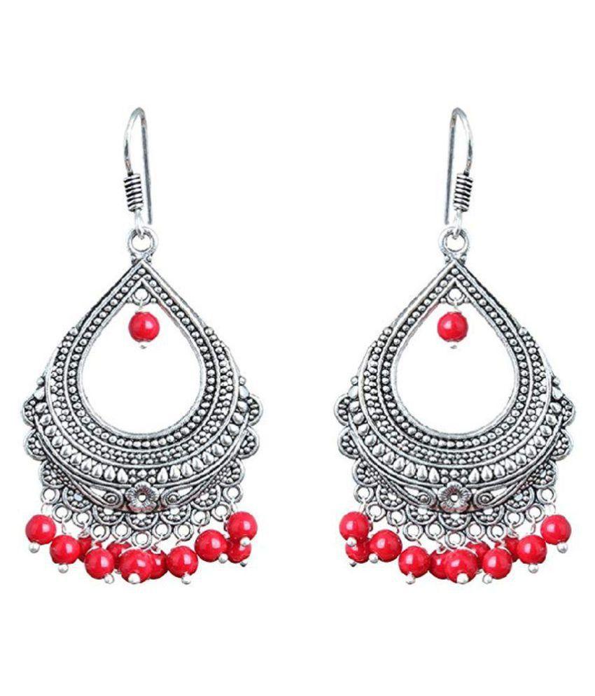 SG-Fashions Oxidized fashion earrings for woman