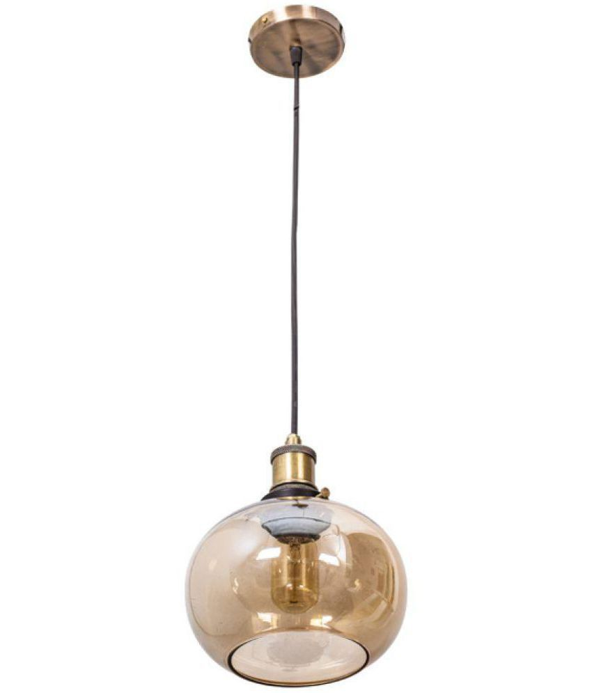 Fos Lighting Glass Pendant Brown - Pack of 1