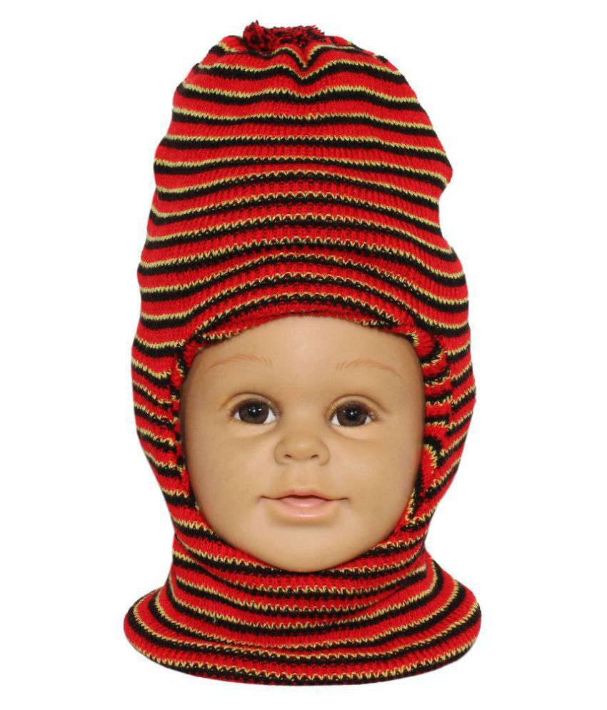 Goodluck Boy & Girls Winter Warm Woolen  Cap For Kids