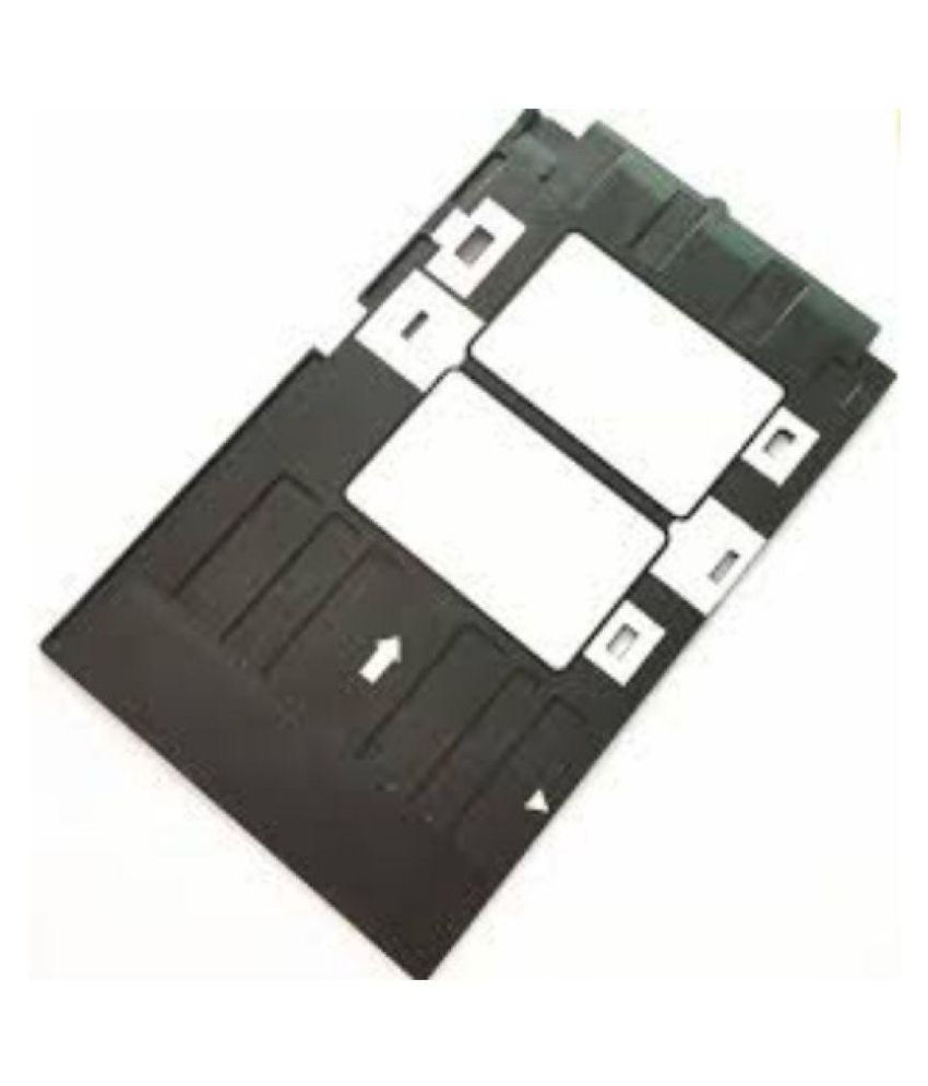 Black PVC ID Card Tray for Epson L-800, L-805, L810, R-260, R-280, R290,  T-50, T-60, P-50 Inkjet Printer