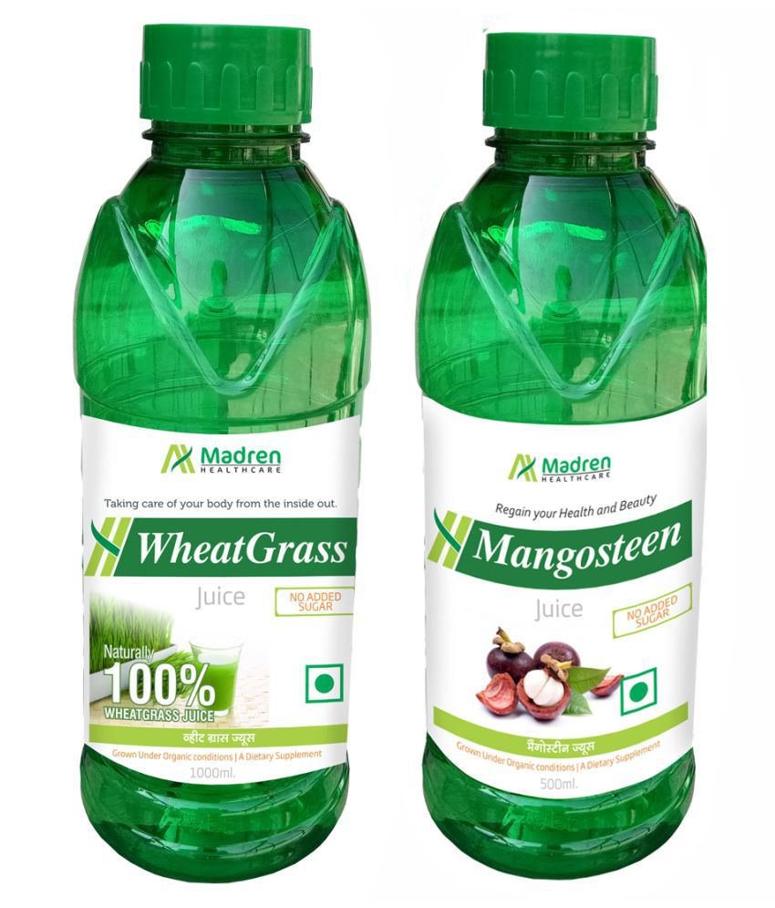 Madren Healthcare WheatGrass & Mangosteen  Health Drink 1500 ml