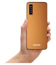 Philips (DLP6006B) 11000 -mAh Li-Ion Power Bank Brown