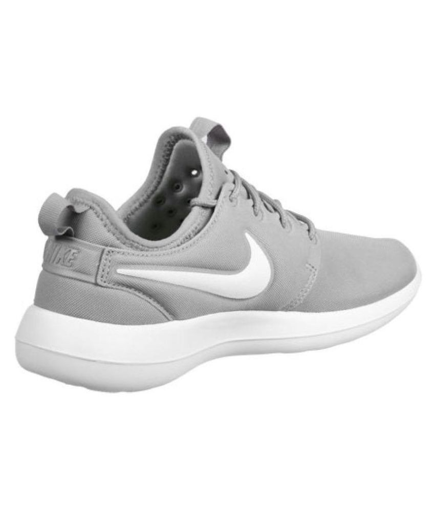 sale retailer 0f02e a9c0d Nike Roshe Two Mesh Grey Running Shoes