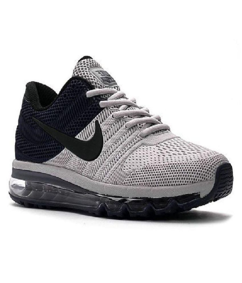 best service 6beda f2445 Nike Airmax 2017.5 KPU Grey Running Shoes ...