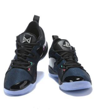 free shipping 64c83 535d4 Nike PG 2 PLAYSTATION LED LIGHT Blue Basketball Shoes - Buy ...