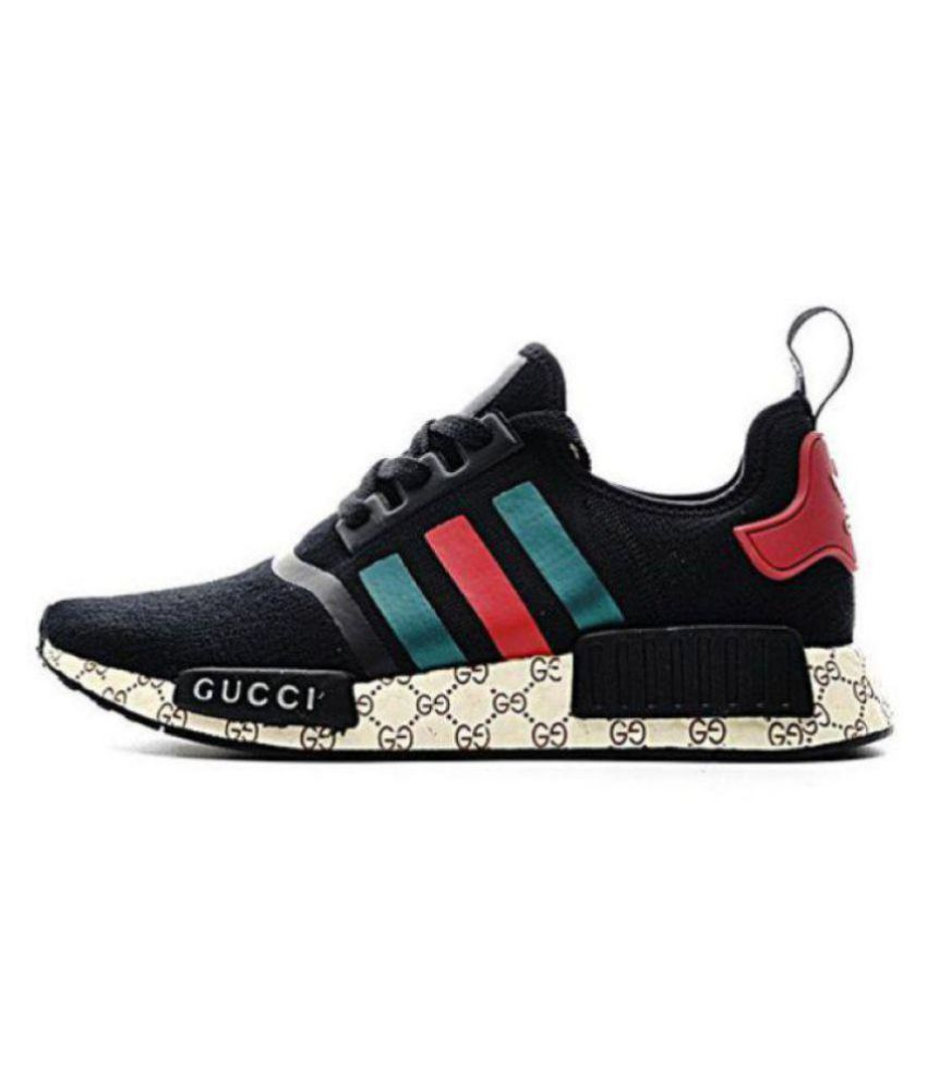 d7fdc022133 Adidas NMD Gucci Black Running Shoes - Buy Adidas NMD Gucci Black ...