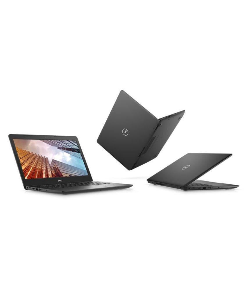Dell Latitude Latitude 3490 Notebook Core i5 (8th Generation) 4 GB  35 56cm(14) Windows 10 Pro Integrated Graphics Black