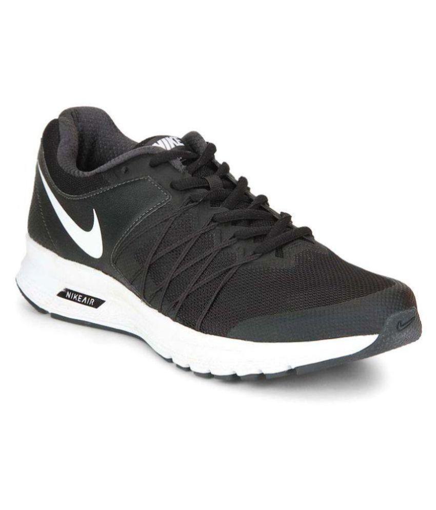 hot sale online 62c3c e01bc Nike AIR RELENTLESS 6 MSL Black Running Shoes