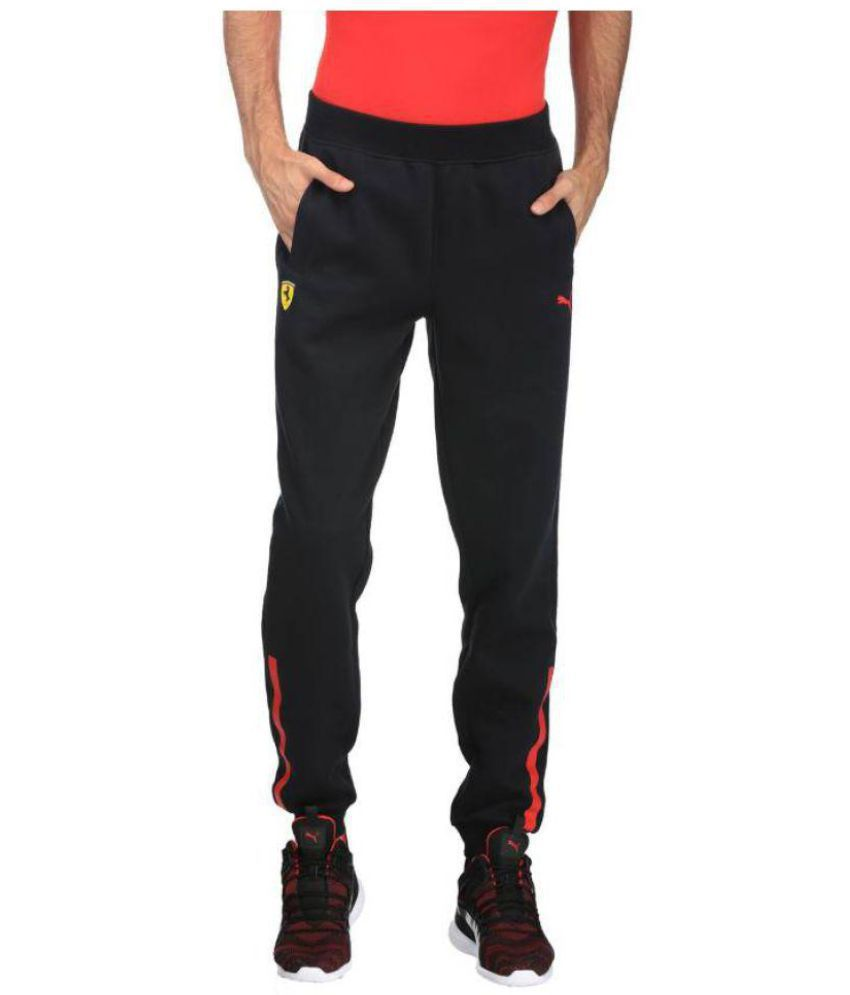 70329f3ac7ea Puma Black Polyester Lycra Joggers - Buy Puma Black Polyester Lycra Joggers  Online at Low Price in India - Snapdeal