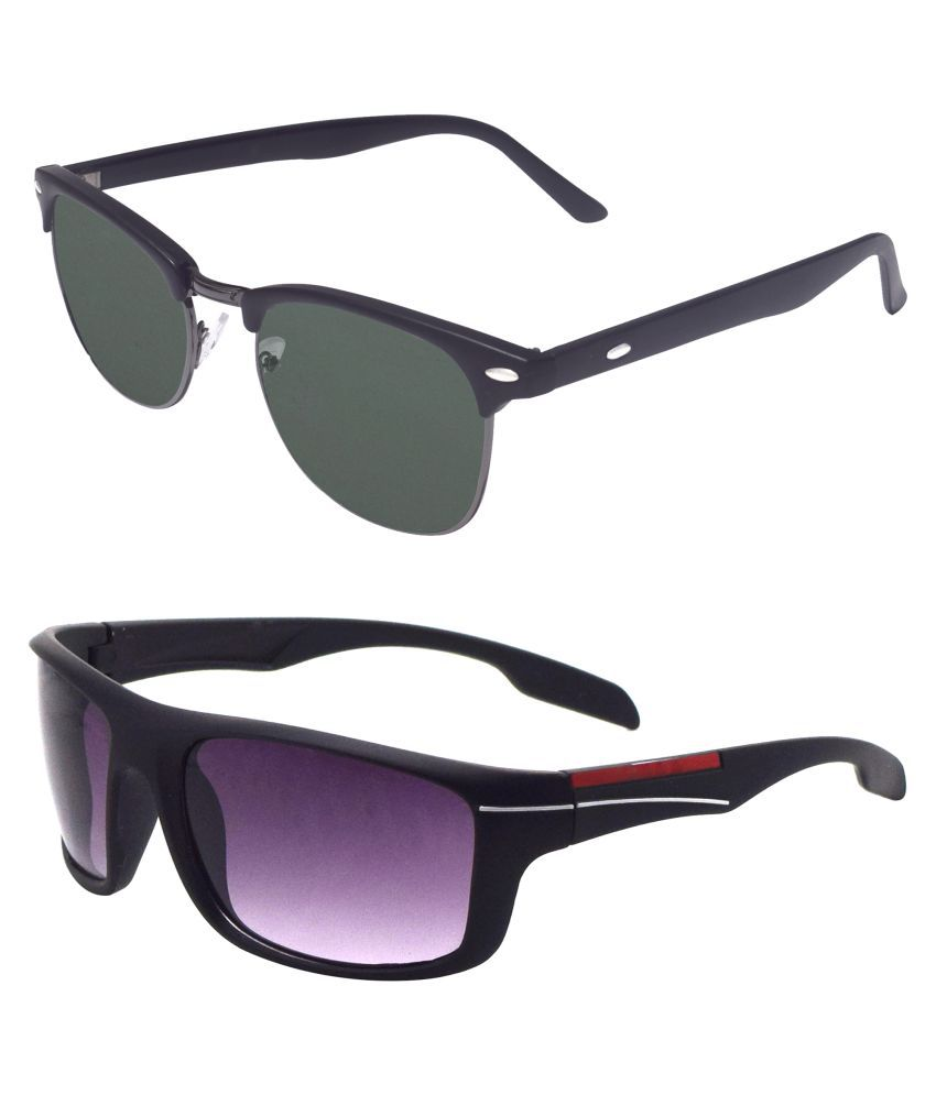 ocnik Multicolor Clubmaster Sunglasses ( 409-180. )