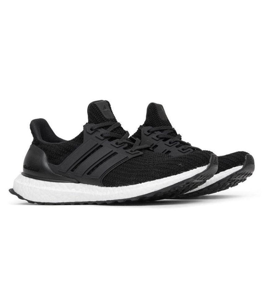 quality design 33593 3f9b6 Adidas ADIDAS ULTRABOOST 4.0 Black Running Shoes