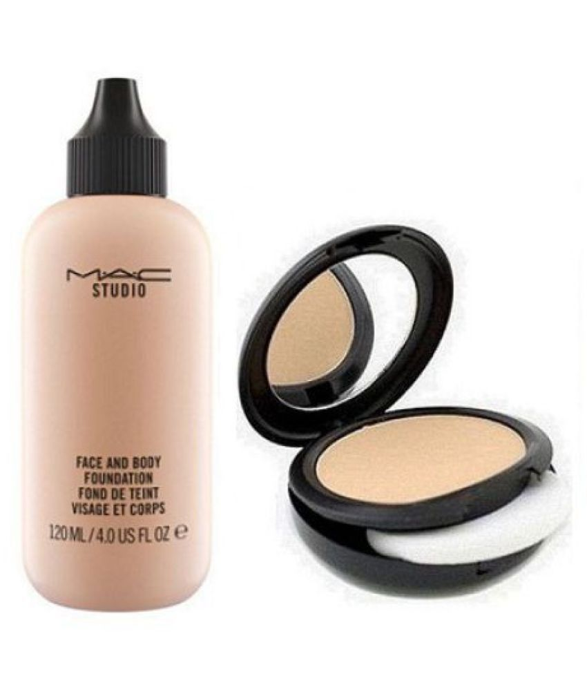 Mac Face And Body Foundation,Two Way Compact Makeup Kit ml
