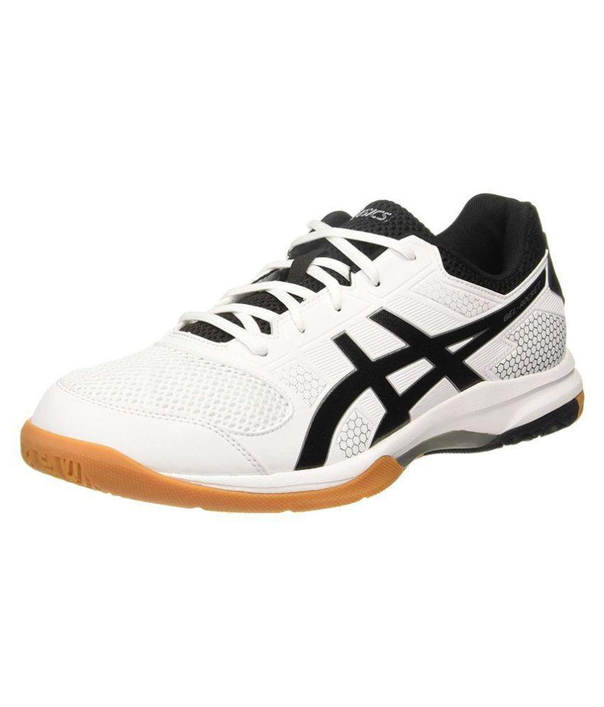 987e5833f8 Asics Gel-Rocket 8 White Running Shoes
