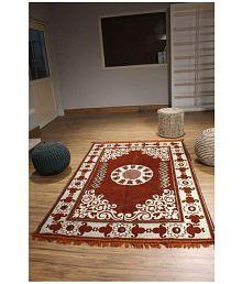 Quick View. Kaizen Decor Rust Velvet Carpet ...