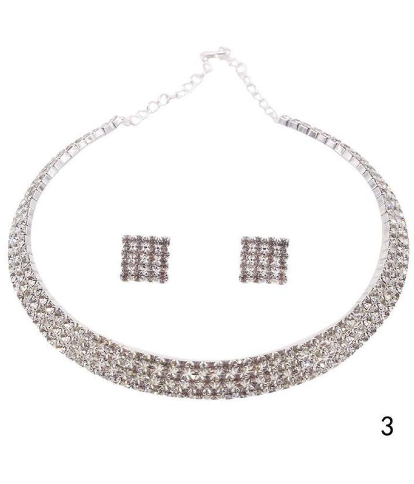 Generic 92.5 Silver Necklace