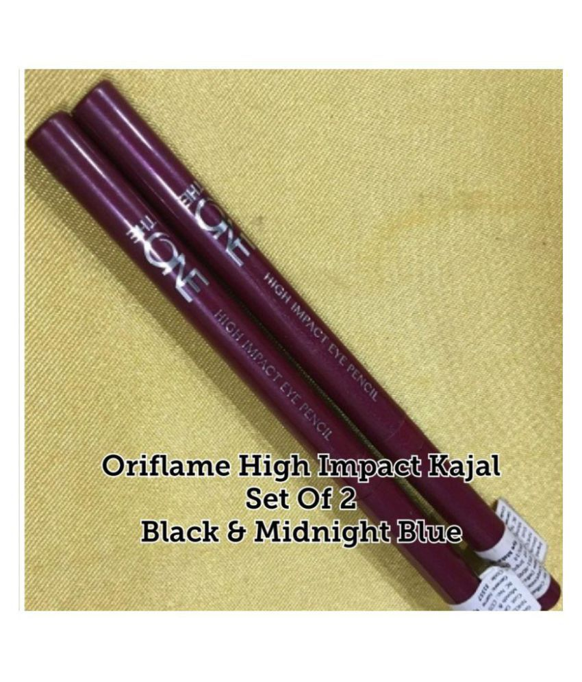... Oriflame oriflame Kajal Pencil 31557 black .020 gm Pack of 2 ...