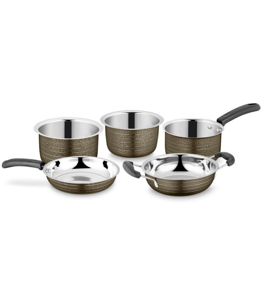 IDEALE 5 Piece Cookware Set