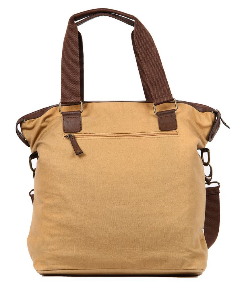 ... U.S. Polo Assn. Brown Solid Duffle Bag ... 0af8f5d23a6ef