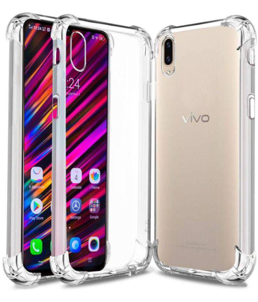 Vivo V11 Pro Shock Proof Case Bracevor - Transparent