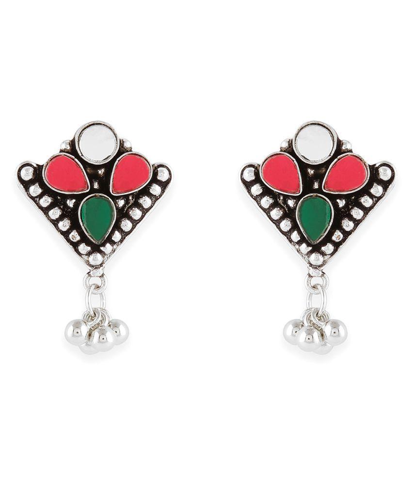 Binni's Wardrobe Colorful Mirror Earring