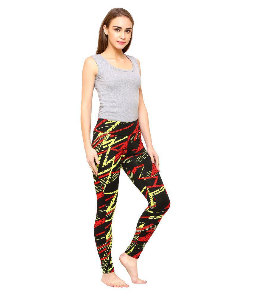 06ca9207ef Vritraz Girls Buttery Soft Popular 3D Digital Printed Full Length Legging