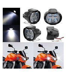 5f28468ac92 Quick View. 4 LED 12W Car and Bike LED Fog Light Spot Beam Off Road Driving  Lamp(Set of 2) ...