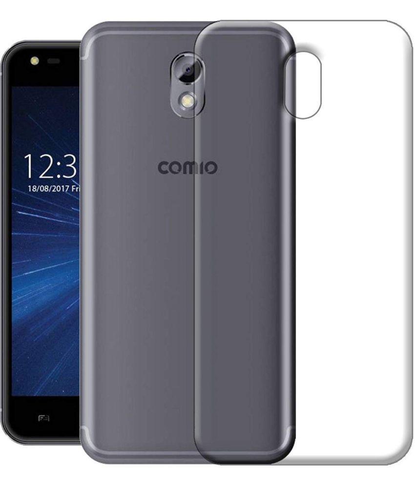 COMIO C2 LITE Soft Silicon Cases BK Enterprise - Transparent