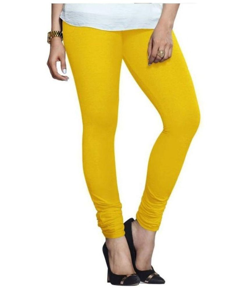 Ebury Lycra Jeggings - Yellow