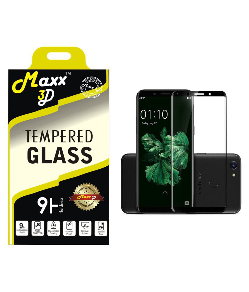 Oppo F5 Tempered Glass Screen Guard By MAXX3D
