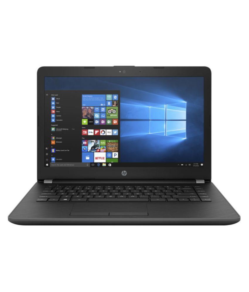 HP 14 14-bs583TU Notebook Core i3 (6th Generation) 4 GB 35.56cm(14) DOS Not Applicable Grey