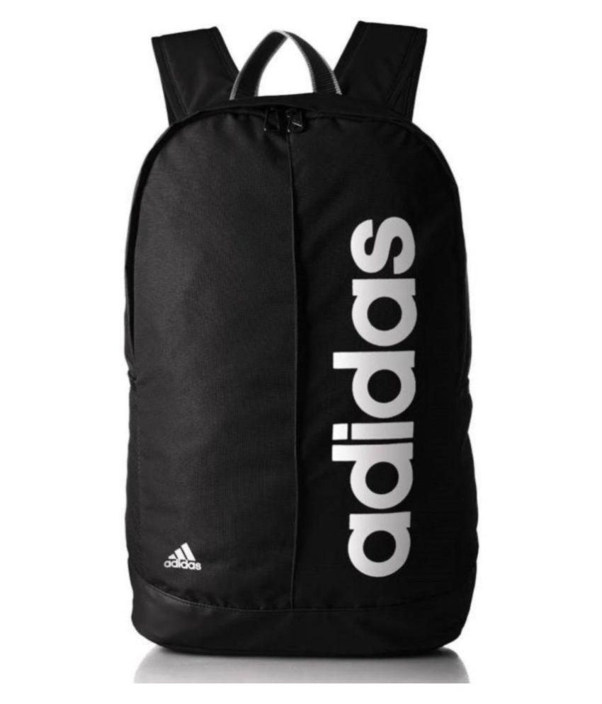 Adidas Black Canvas College Bags Backpacks- 20 Ltrs Gents Bag Carry Bag Men  - Buy Adidas Black Canvas College Bags Backpacks- 20 Ltrs Gents Bag Carry  Bag ... cb055982b602c