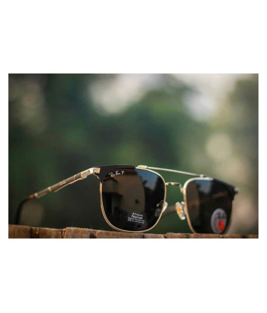 5345fd2002 Buy Ray Ban Stylish Black Wayfarer UV Protected Unisex Sunglasses at Best  Prices in India - Snapdeal