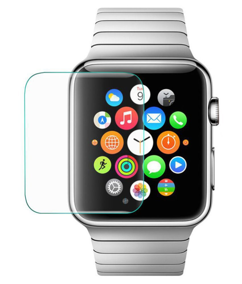 Apple i watch 42mm Tempered Glass Screen Guard By CrackerDeal