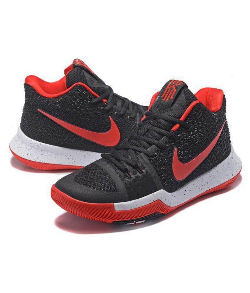2a8b0028dde1 Nike Kyrie 3 Gum Red Black Basketball Shoes - Buy Nike Kyrie 3 Gum ...