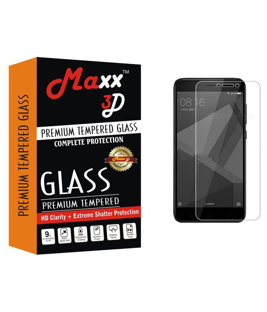 Samsung Galaxy J4 Tempered Glass Screen Guard By MAXX3D