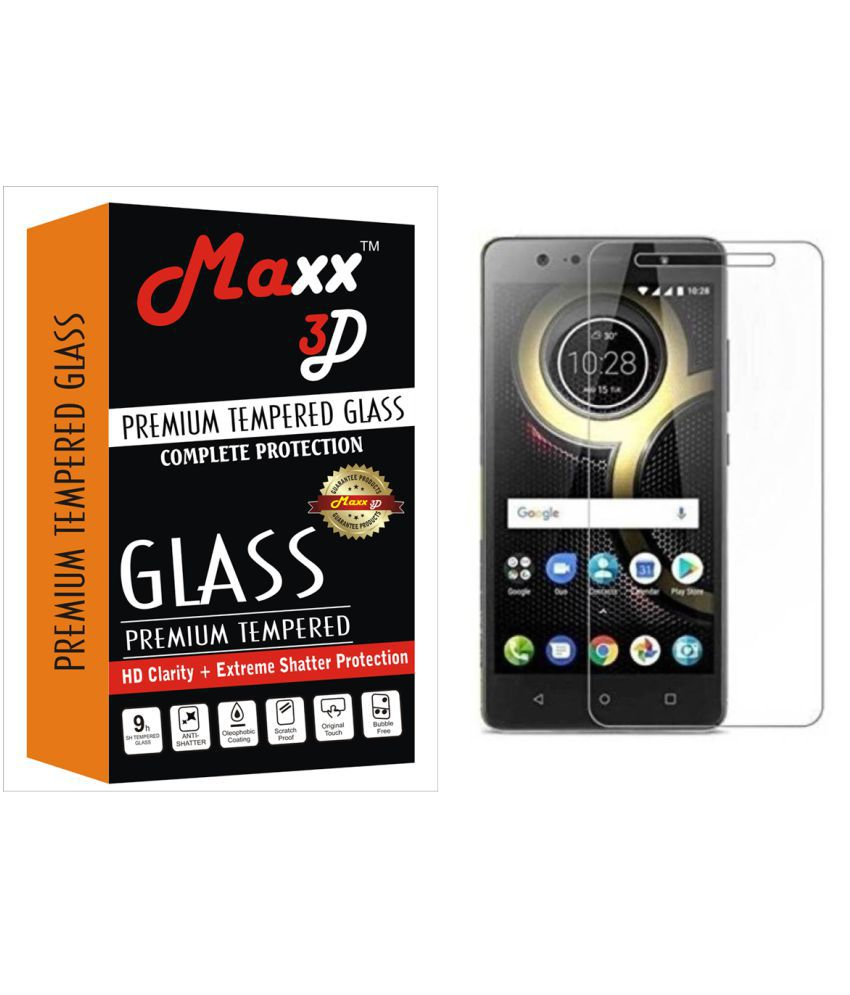Lenovo K8 Note Tempered Glass Screen Guard By MAXX3D