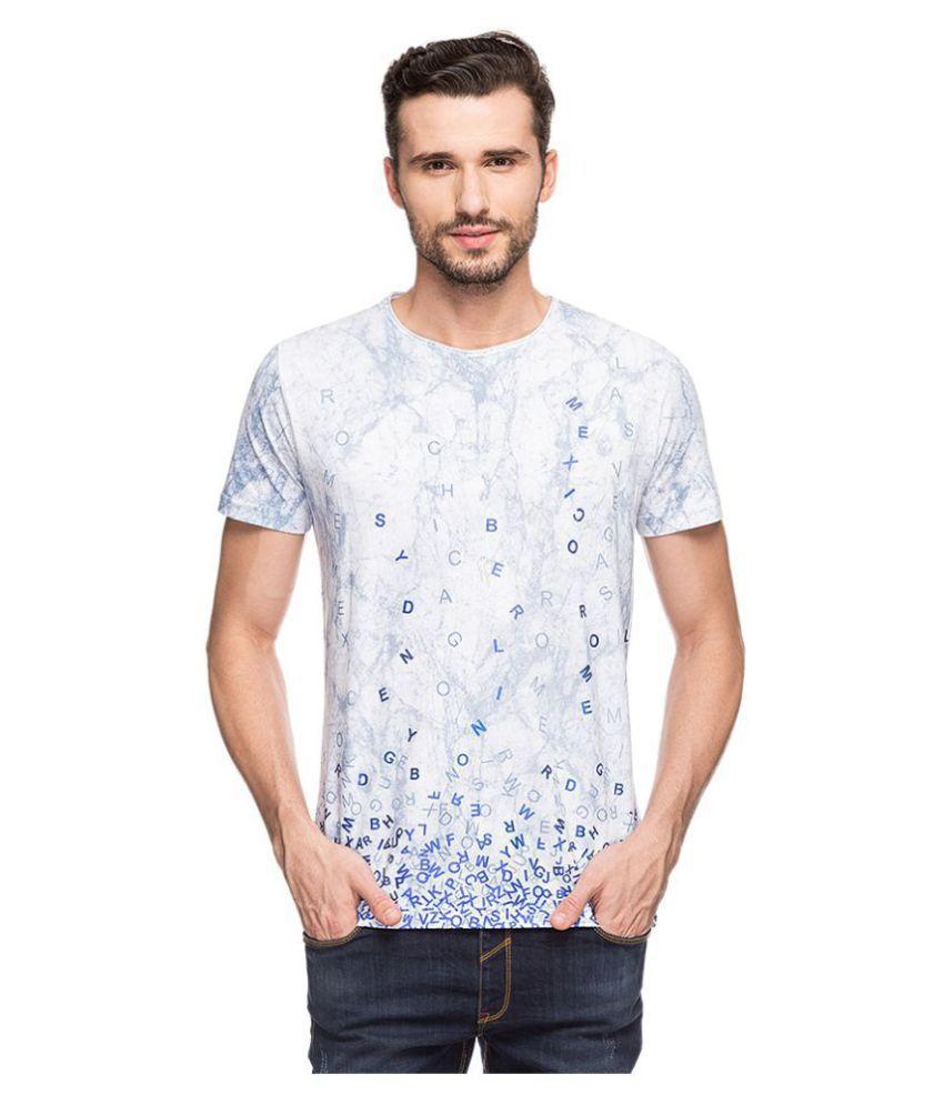 Status Quo Blue Half Sleeve T-Shirt Pack of 1
