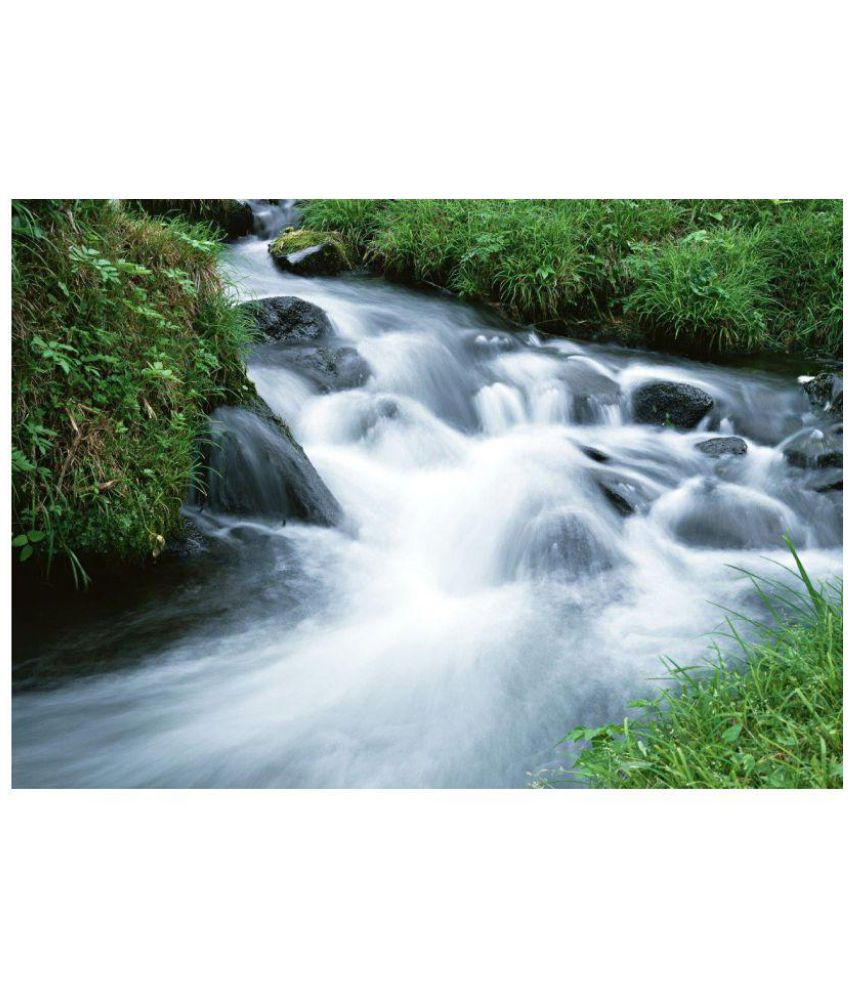 Vitalwalls Waterfall Paintings Canvas Painting Without Frame