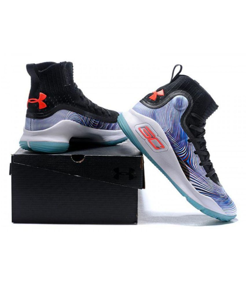 uk availability 02871 0a0a1 Under Armour UA CURRY 4 'MORE MAGIC' Multi Color Basketball Shoes