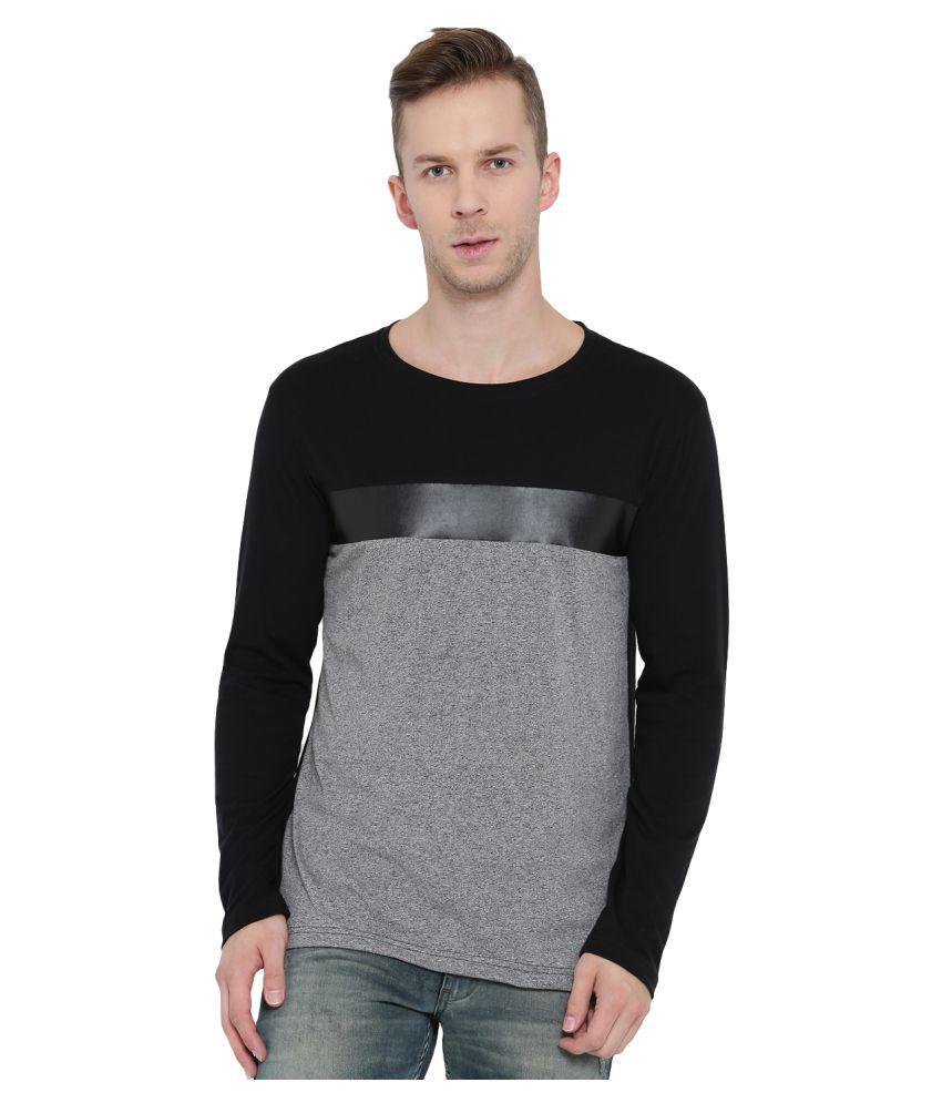 Teesort Grey Full Sleeve T-Shirt