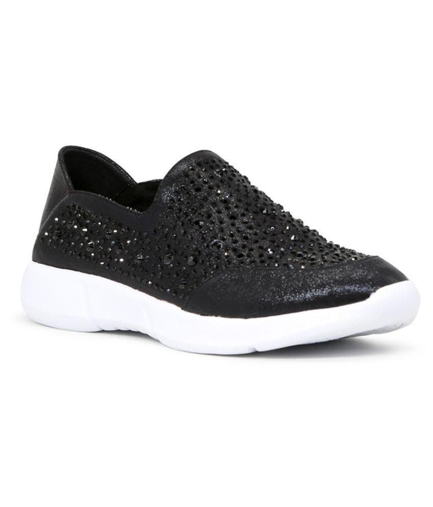 London Rag Black Casual Shoes