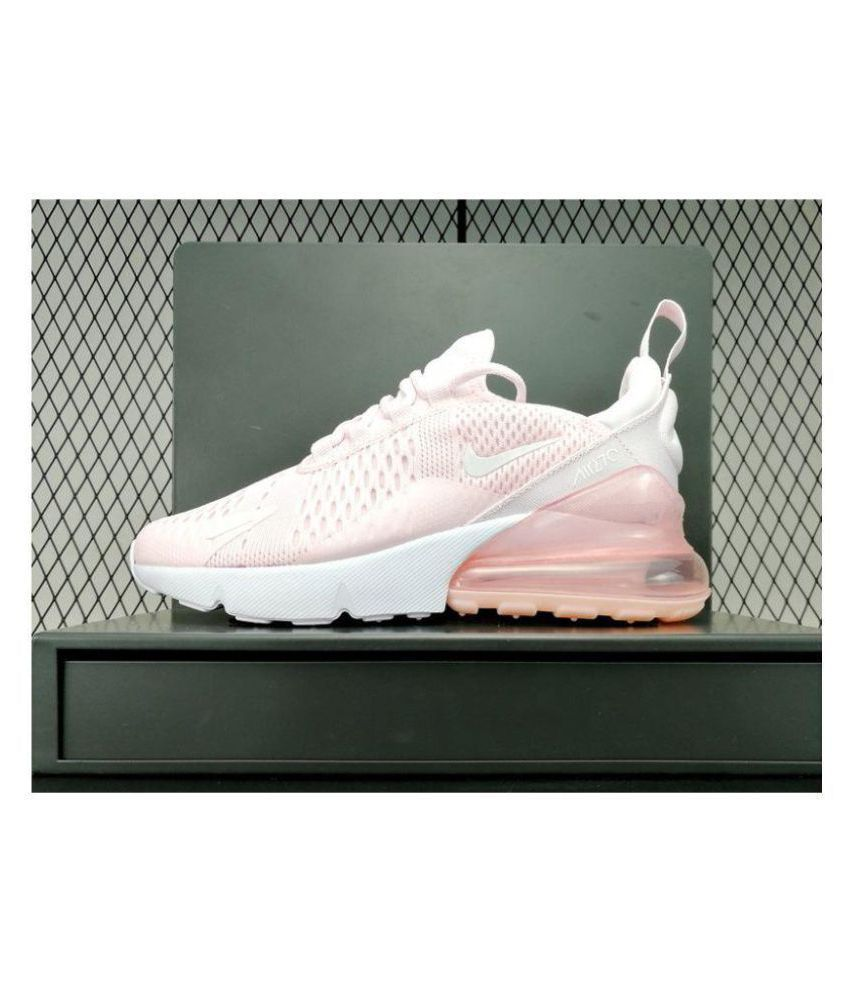 c9355cb1b1 Nike Air Max 270 Pink Womens Running Shoes Price in India- Buy Nike ...