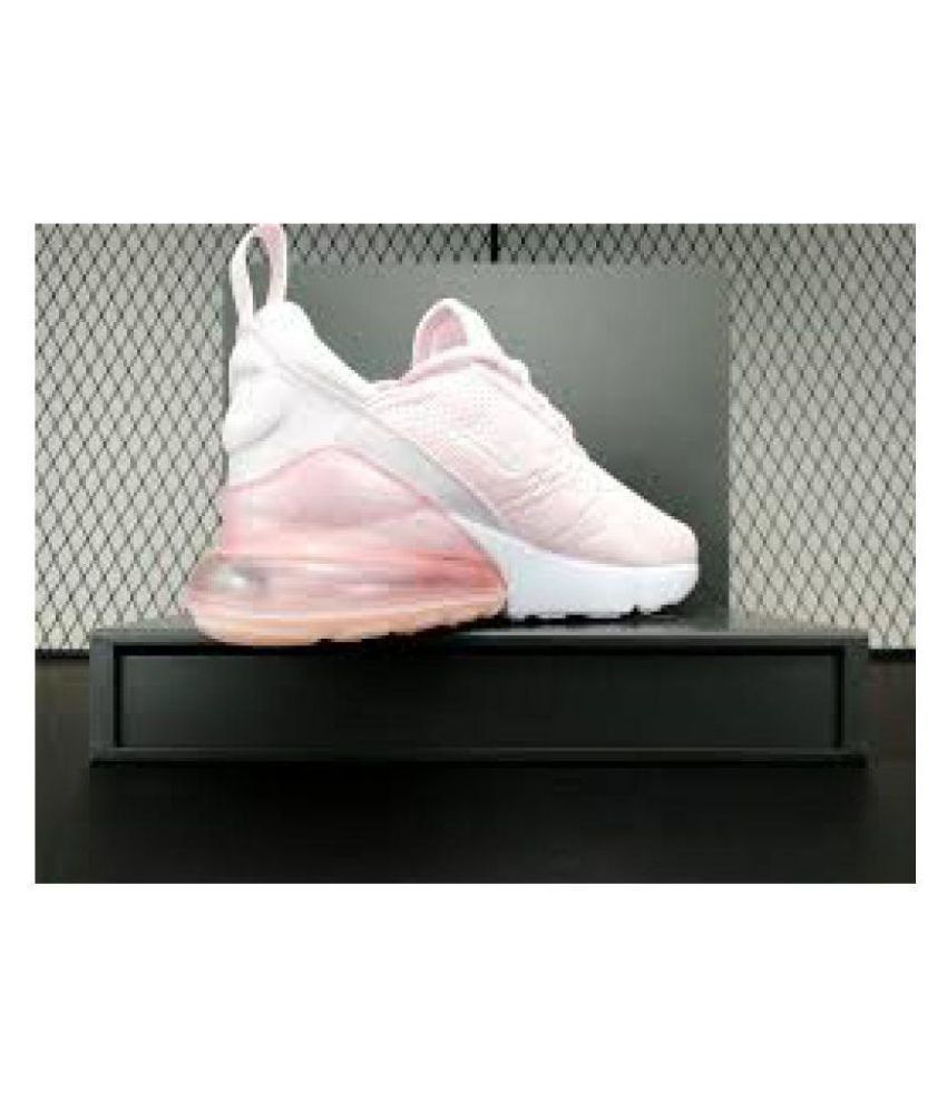 06db631b21e Nike Air Max 270 Pink Womens Running Shoes Price in India- Buy Nike ...