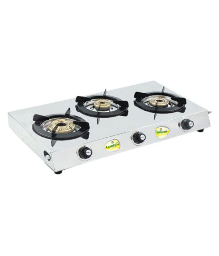 Laxmi Shine Triple Cook All In One 3 Burner Manual Gas Stove Price India Online On