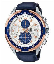 Men Fashion 4402 Leather Chronograph Watch