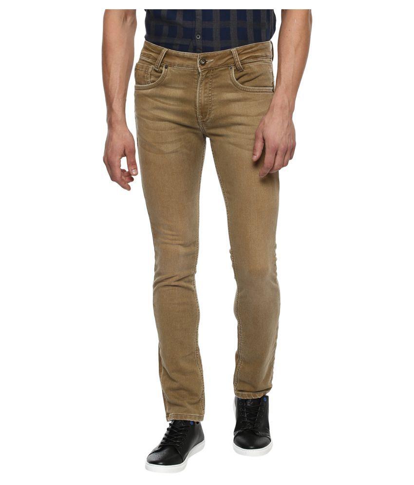 Mufti Khaki Slim Jeans