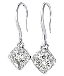 c28719a0f Platinum Earrings: Buy Platinum Earrings Online with Latest Designs ...
