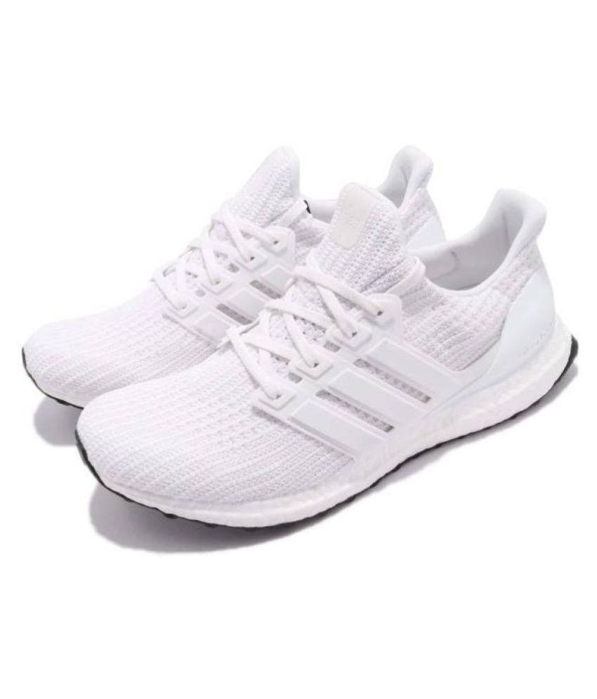 Adidas ULTRABOOST 4.0 White Running Shoes - Buy Adidas ULTRABOOST 4.0 White  Running Shoes Online at Best Prices in India on Snapdeal 6fd0a0398b9a