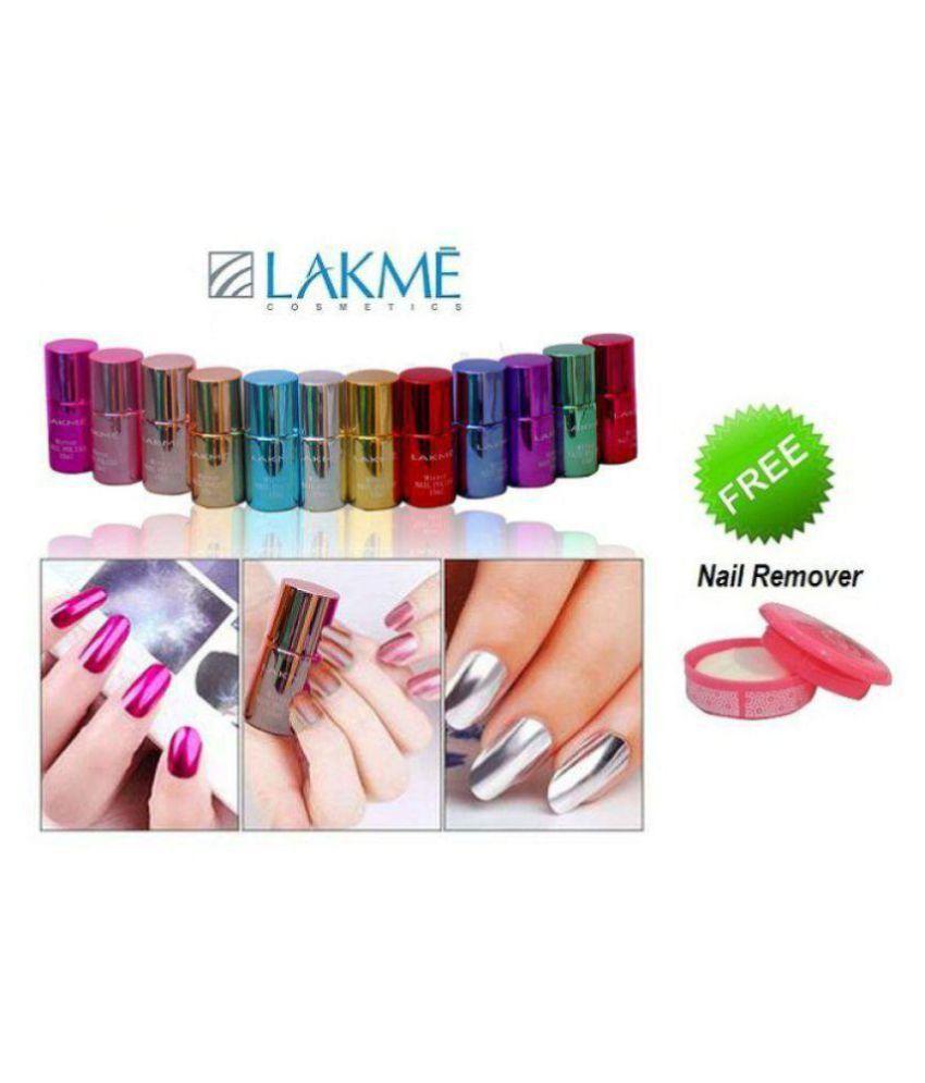 Lakme Imported Mirror Shimmery Nail Polish . Shimmer 60 ml