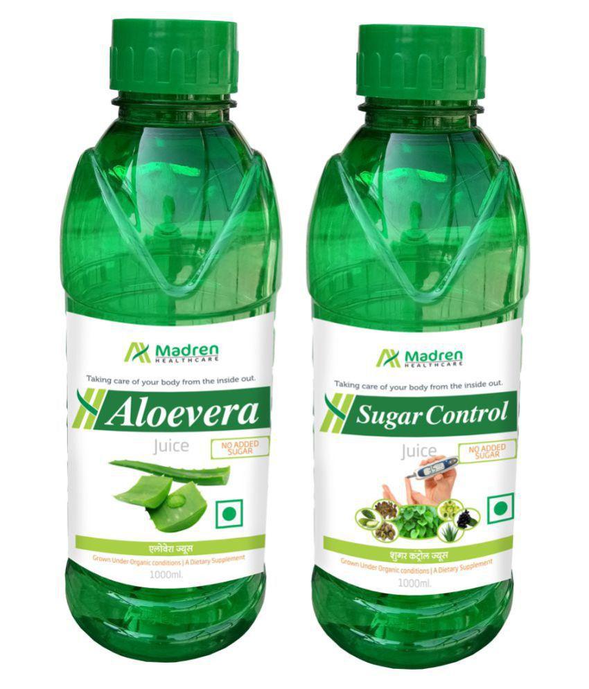Madren Healthcare Aloevera & Sugar Control  Health Drink 2000 ml